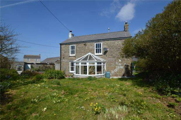 3 Bedrooms Detached House for sale in Sennen, Penzance, Cornwall