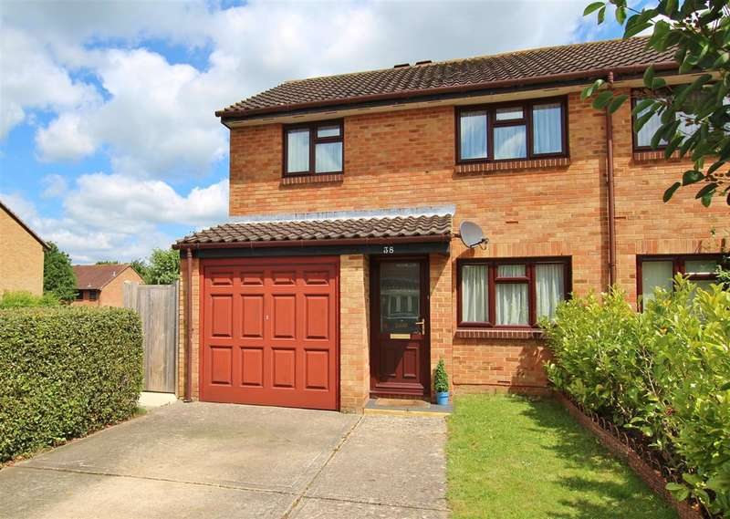 3 Bedrooms Semi Detached House for sale in Charrington Way, Broadbridge Heath, Horsham