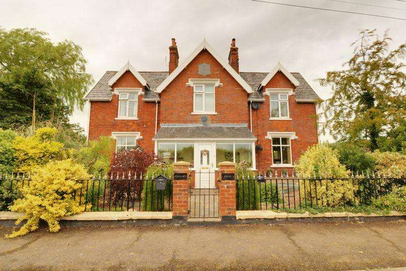 4 Bedrooms Semi Detached House for sale in Station Road, Thornton Curtis