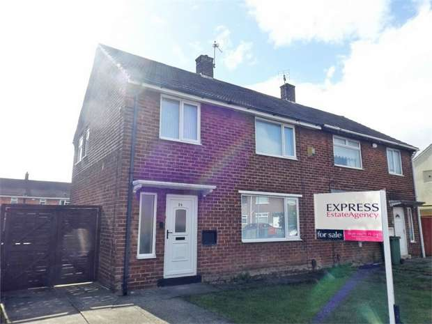 3 Bedrooms Semi Detached House for sale in Hylton Road, Billingham, Durham