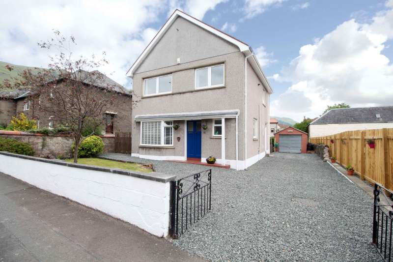 3 Bedrooms Detached House for sale in Hill Street, Tillicoultry, Clackmannanshire, FK13 6HF