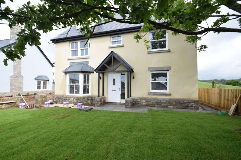 5 Bedrooms Detached House for sale in No.3 The Paddocks, Heol Yr Ysgol, Coity, Bridgend, CF35 6BL