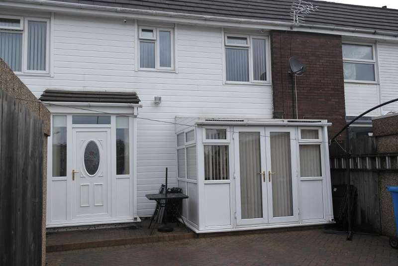 3 Bedrooms Terraced House for sale in Dulverton Close, Bransholme, Hull, HU7 4EJ
