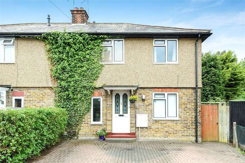 3 Bedrooms Semi Detached House for sale in Rose Gardens, Watford, Hertfordshire, WD18