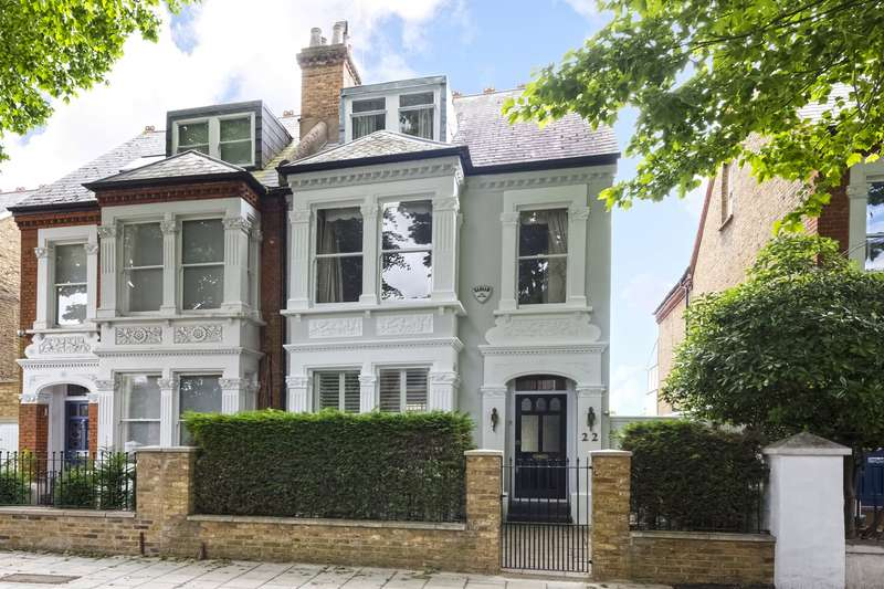 5 Bedrooms House for sale in Beverley Road, Chiswick, London, W4