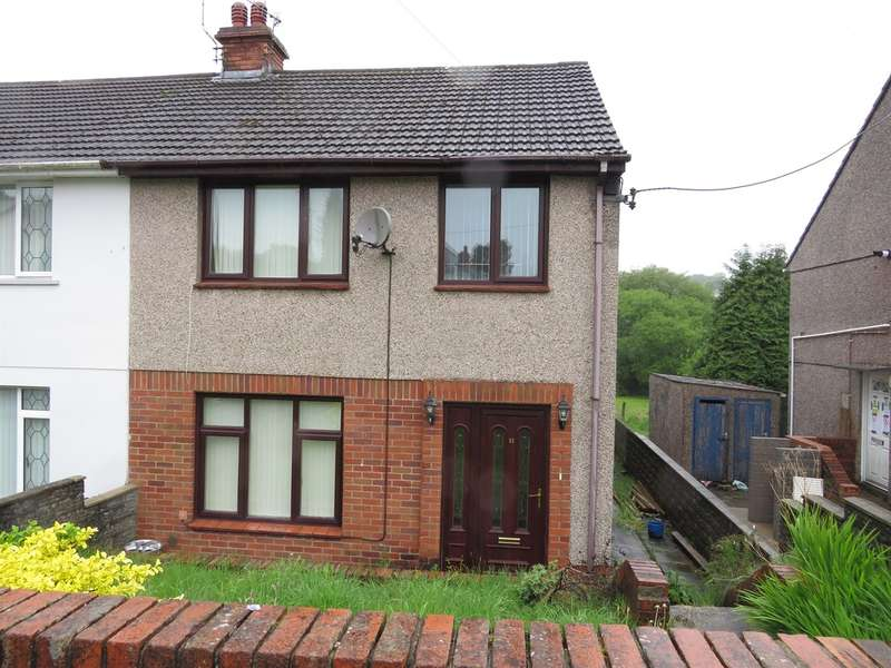 3 Bedrooms Semi Detached House for sale in Rhyddwen Road, Craig-Cefn-Parc, Swansea