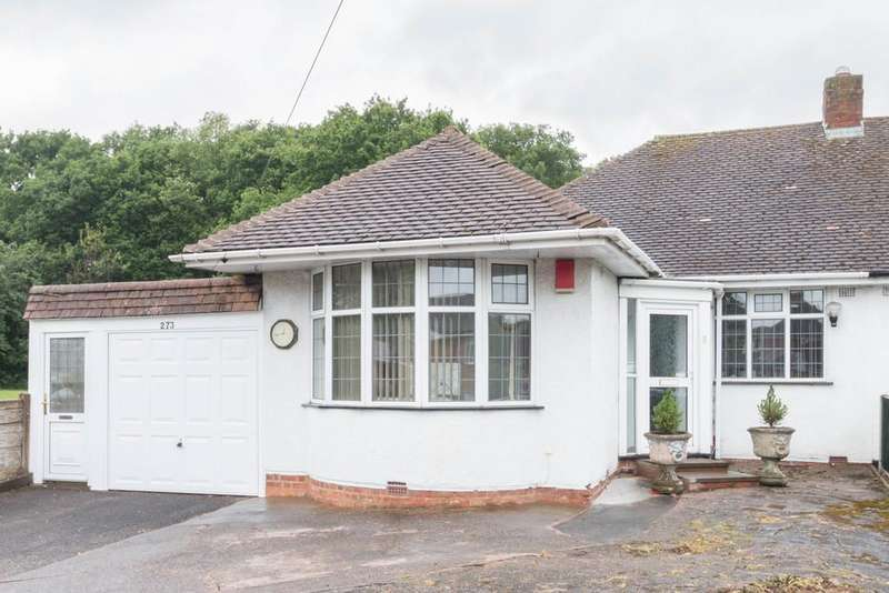 2 Bedrooms Semi Detached Bungalow for sale in Castle Lane, Olton, Solihull