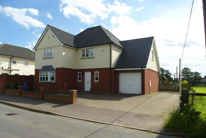 4 Bedrooms Detached House for sale in Bungay