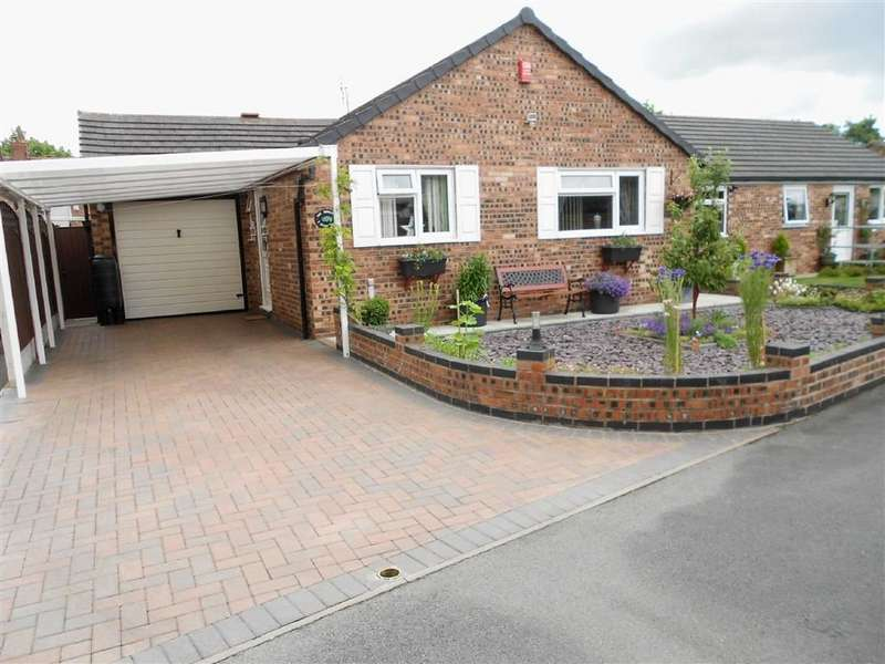 2 Bedrooms Detached Bungalow for sale in Stamp Close, Crewe, Cheshire