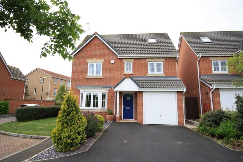 5 Bedrooms Detached House for sale in Persian Close, Derby, Derbyshire, DE24