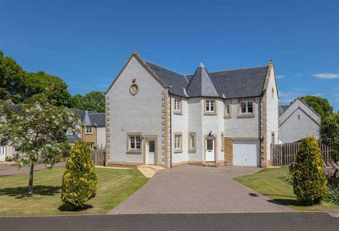 4 Bedrooms Detached House for sale in Corner House, 13 Scottsdale, Melrose, TD6 9QE
