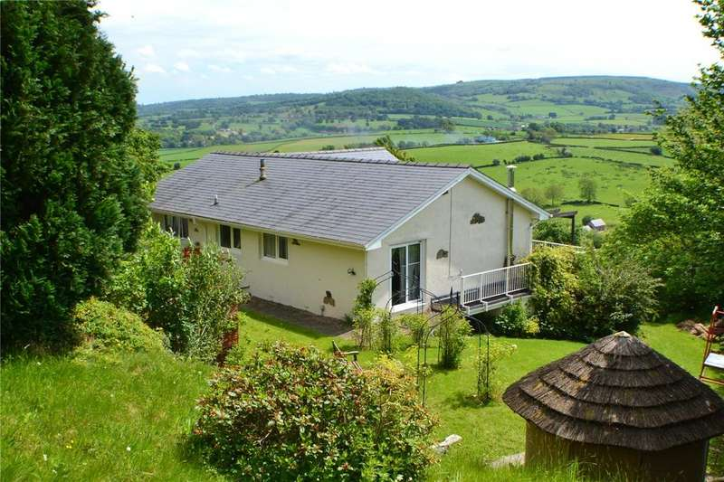 4 Bedrooms Detached Bungalow for sale in Clyro, Herefordshire