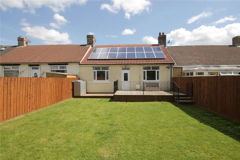 3 Bedrooms Terraced Bungalow for sale in Ford Street, Delves Lane, Consett, DH8