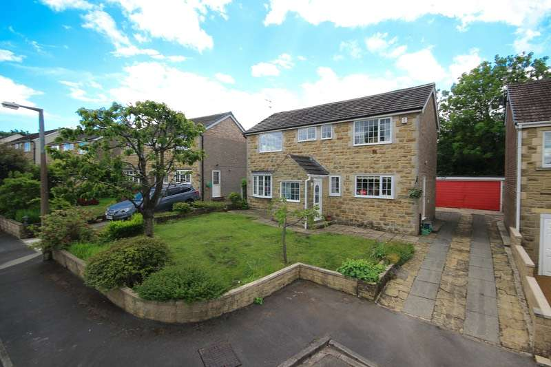 4 Bedrooms Detached House for sale in Sutton drive, Cullingworth, West Yorkshire, BD13
