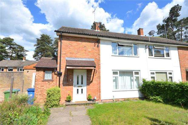 3 Bedrooms Semi Detached House for sale in Wilberforce Way, Bracknell, Berkshire