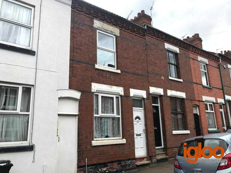 2 Bedrooms Terraced House for sale in Hartopp Road, Leicester