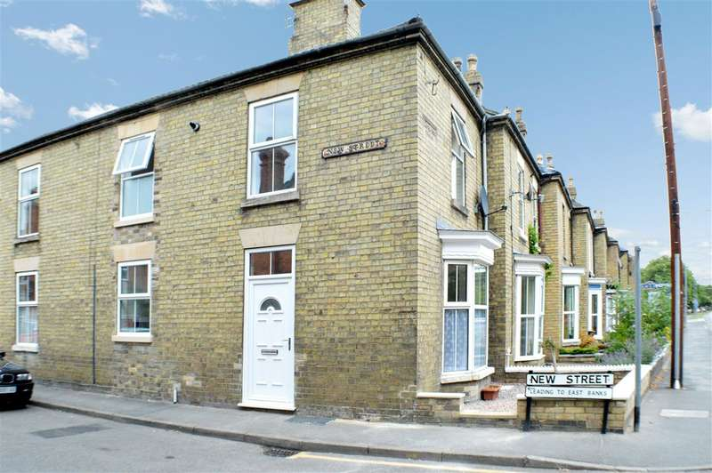 2 Bedrooms End Of Terrace House for sale in Boston Road, Sleaford