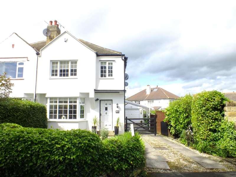 3 Bedrooms Semi Detached House for sale in Buckstone Crescent, Alwoodley, Leeds, LS17 5HU
