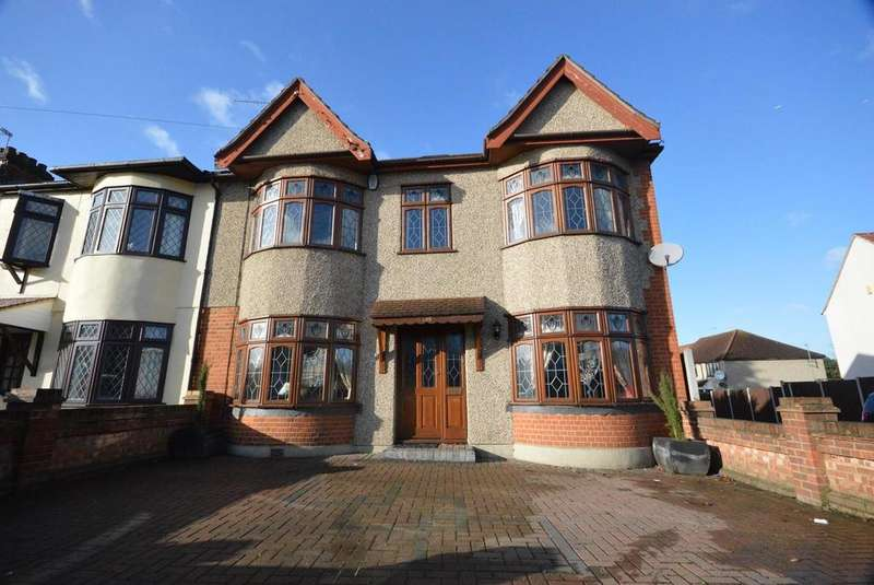 4 Bedrooms End Of Terrace House for sale in Dorset Avenue, Romford, RM1