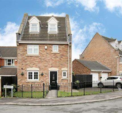 4 Bedrooms Detached House for sale in Prominence Way Rotherham South Yorkshire