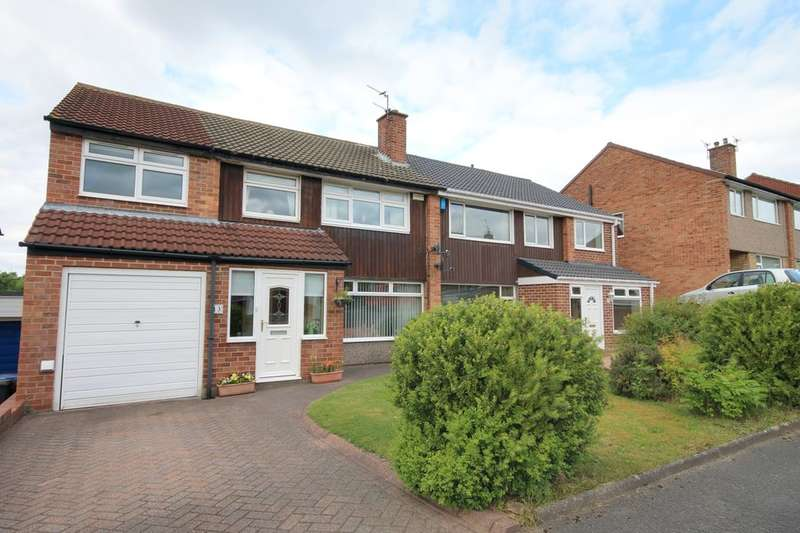 5 Bedrooms Semi Detached House for sale in Runnymede, Great Lumley, Chester Le Street, DH3