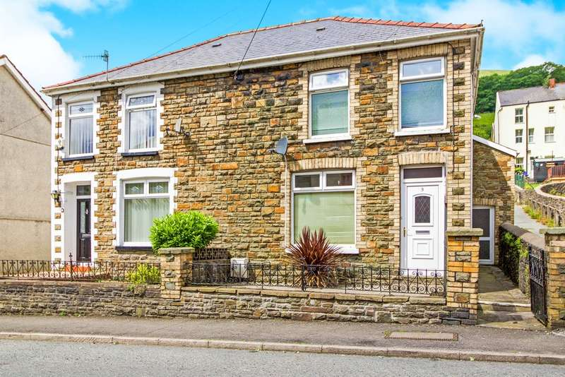 3 Bedrooms Semi Detached House for sale in Dunraven Place, Ogmore Vale, Bridgend