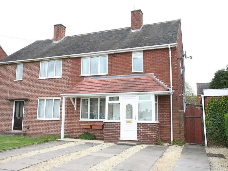 3 Bedrooms Semi Detached House for sale in 13 Berwick Drive, Cannock, WS11 1NS