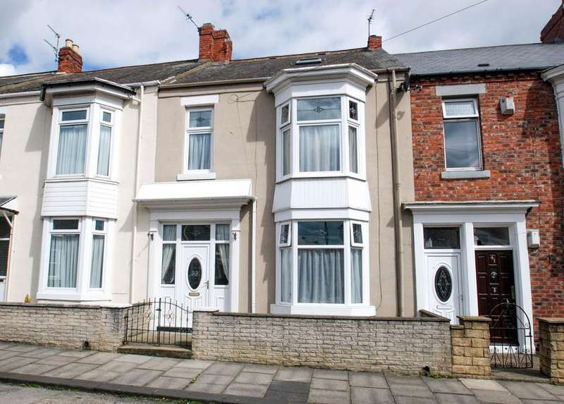 3 Bedrooms Terraced House for sale in Aston Street, South Shields