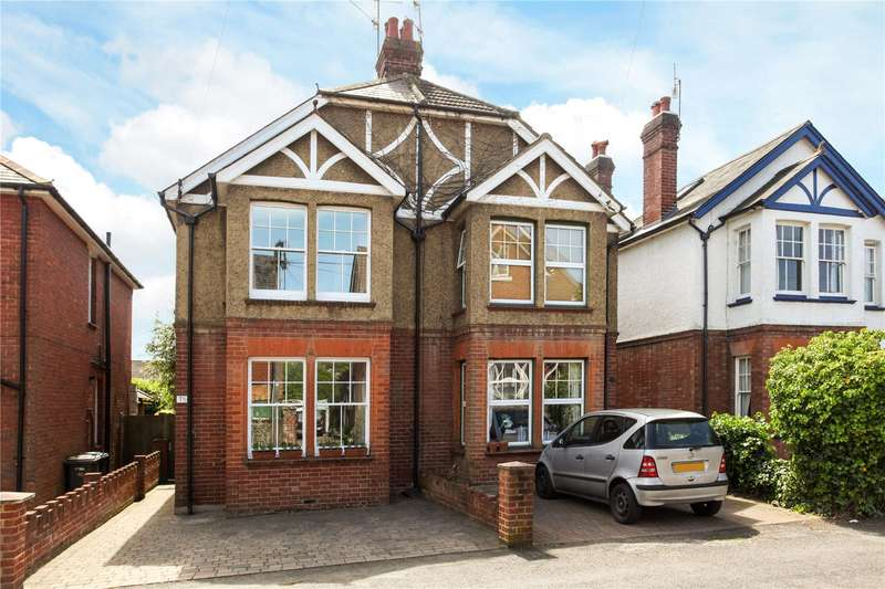 3 Bedrooms Semi Detached House for sale in Wolseley Road, Godalming, Surrey, GU7