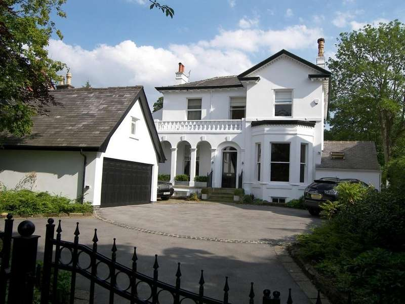 6 Bedrooms Detached House for sale in The White House, Chapel Road, Alderley Edge