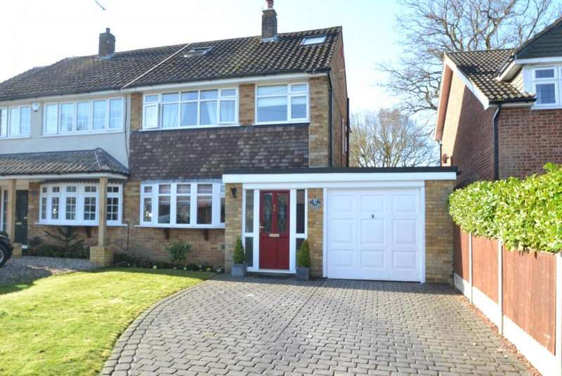 3 Bedrooms Semi Detached House for sale in Mountnessing Road, Billericay, Essex, CM12