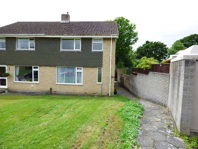 3 Bedrooms Semi Detached House for sale in Brook Close, Plympton