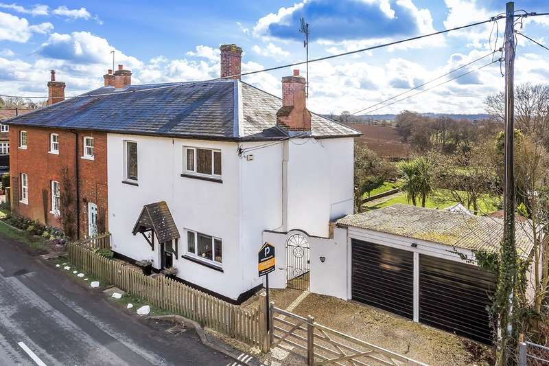 3 Bedrooms Semi Detached House for sale in Hever Road, Bough Beech, TN8