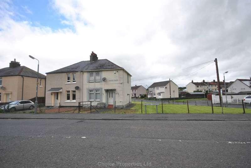 3 Bedrooms Semi Detached House for sale in Greenhill Terrace, Knockentiber, KA2 0BZ