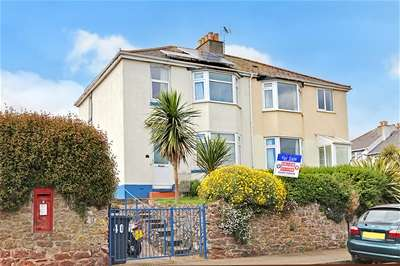 3 Bedrooms Semi Detached House for sale in Colley End Park, Paignton