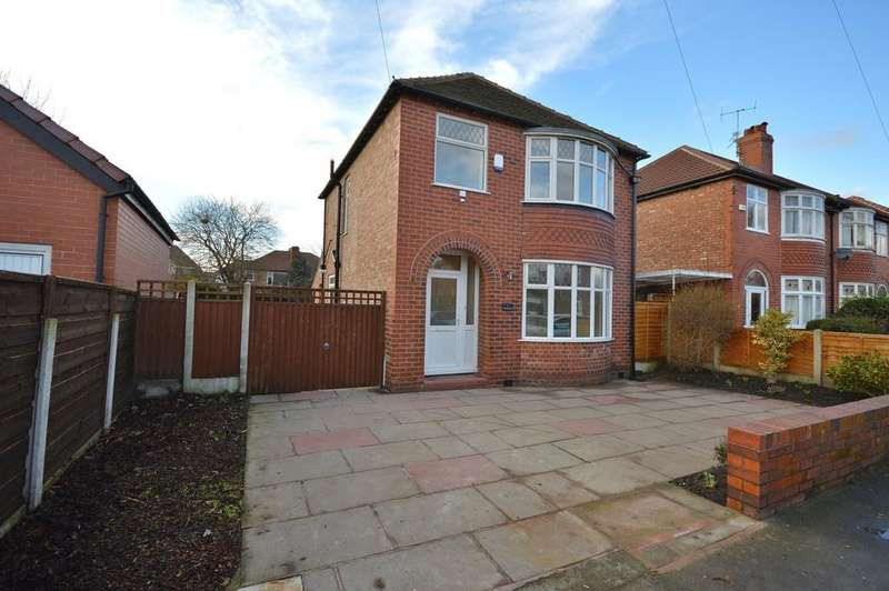 3 Bedrooms Detached House for sale in Woodlands Road, Heaton Mersey