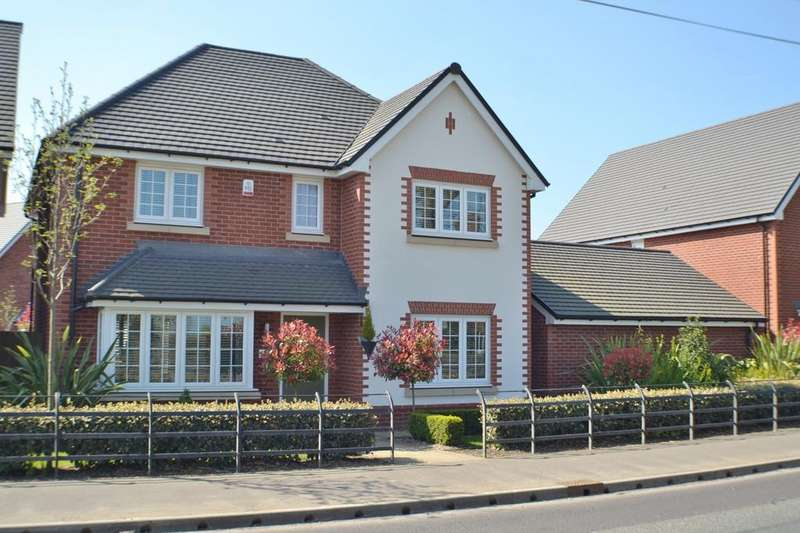 4 Bedrooms Detached House for sale in Holmes Chapel Road, Somerford