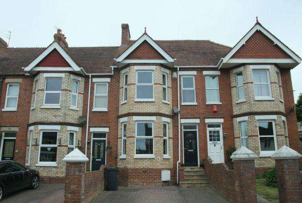 3 Bedrooms Terraced House for sale in Lyndhurst Road, EXMOUTH