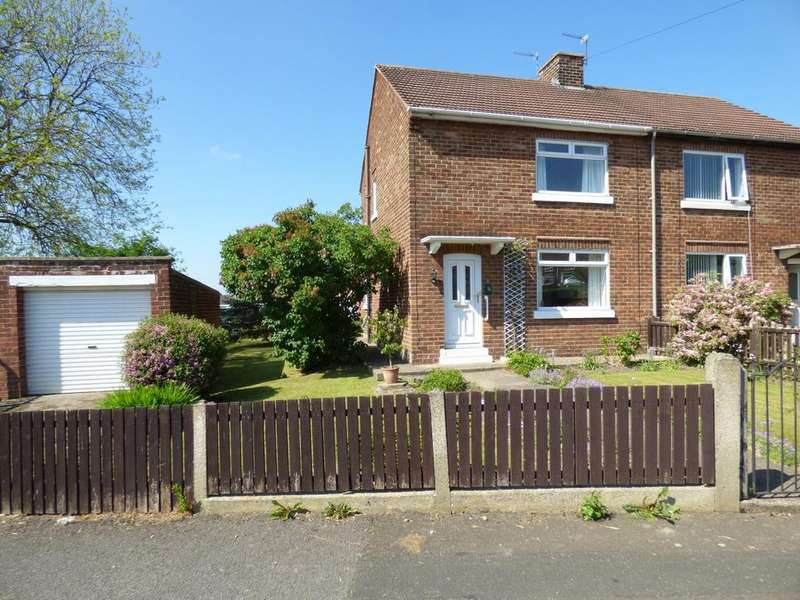 2 Bedrooms Semi Detached House for sale in Park Crescent, Stillington, Stockton-On-Tees, TS21
