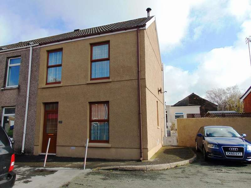 2 Bedrooms End Of Terrace House for sale in Railway Place, Llanelli