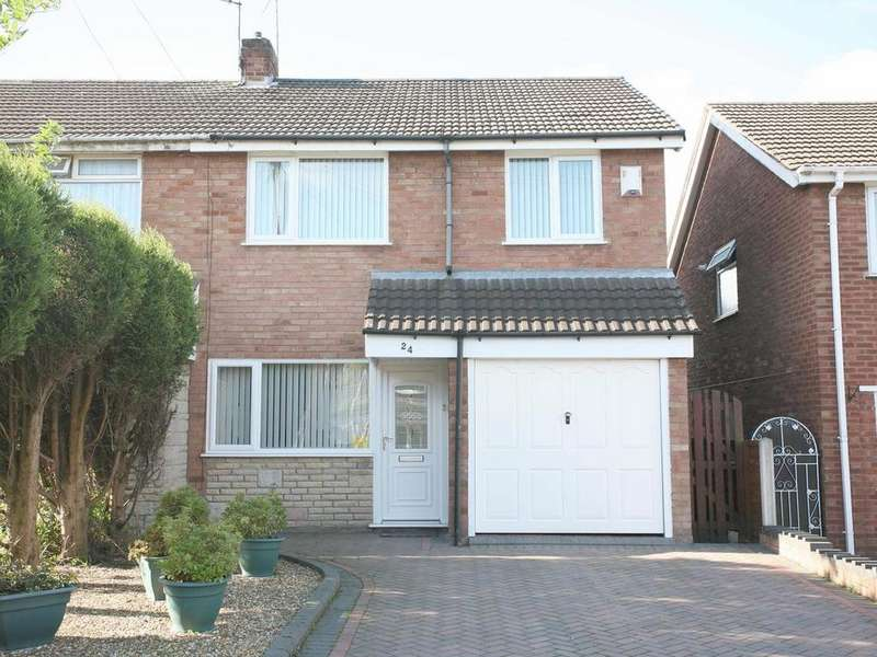 3 Bedrooms Semi Detached House for sale in 24 Hawthorne Road, Cheslyn Hay, WS6 7ER
