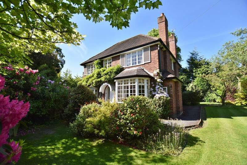3 Bedrooms Detached House for sale in Chapel Lane, Hale Barns