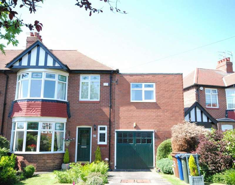 5 Bedrooms Semi Detached House for sale in South Ridge, Brunton Park