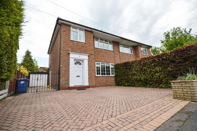 3 Bedrooms Semi Detached House for sale in Monmouth Road, Cheadle Hulme