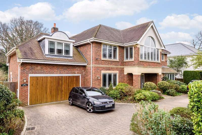 6 Bedrooms Detached House for sale in Monks Road, Virginia Water