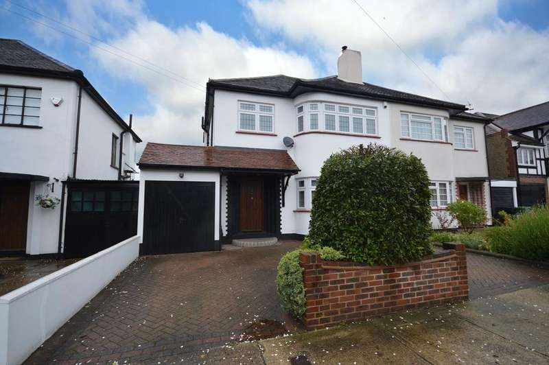 3 Bedrooms Semi Detached House for sale in Repton Avenue, Gidea Park, RM2