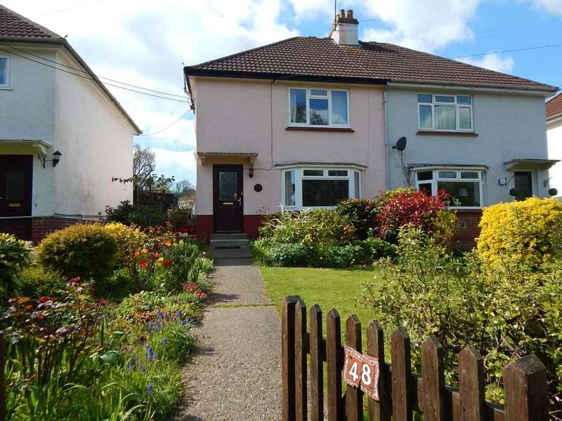 3 Bedrooms Semi Detached House for sale in Colyford Rd, Colyton, Devon
