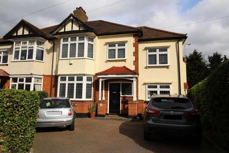 5 Bedrooms Semi Detached House for sale in Stewart Avenue, Upminster, Essex, RM14