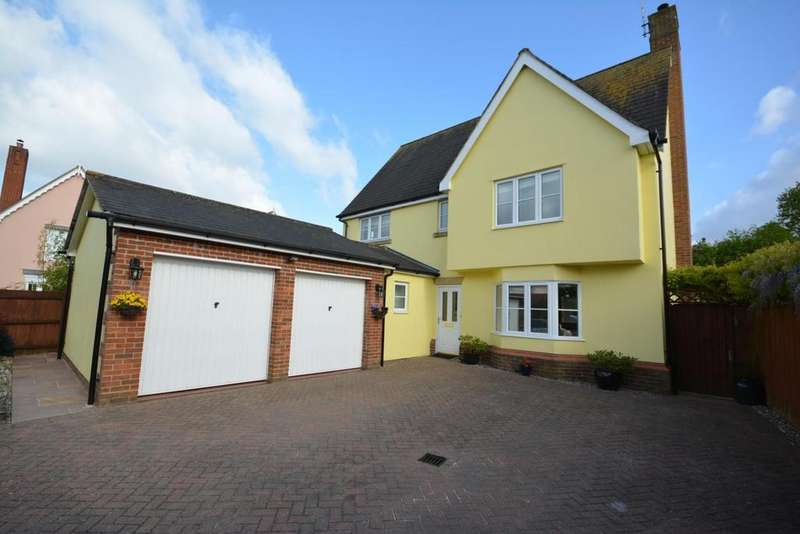 4 Bedrooms Detached House for sale in Gainsborough Road, Black Notley, Braintree, Essex, CM77