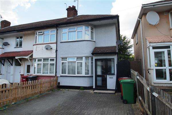2 Bedrooms End Of Terrace House for sale in Bower Way, Cippenham